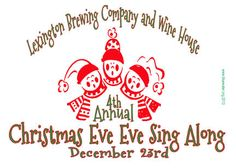 Join local musicians for a rocking Christmas of sing a-long music and holiday cheer at the Lexington Brewing Company. .