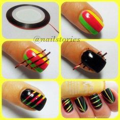 Ladies Hobbies: New Nail Design