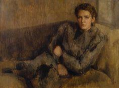 Portrait of Inez Spender, 1937-38 by William Coldstream (English, 1906-1987)