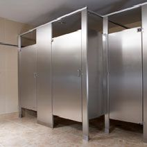 1000 images about restroom partitions on pinterest commercial bathroom stall and stalls for Commercial bathroom partition doors