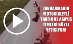 JANDARMANIN MOTOSİKLETLİ TRAFİK VE ASAYİŞ TİMLERİ BÖYLE YETİŞİYOR! - Pes24