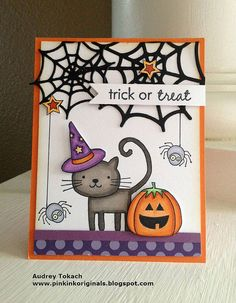 Cat's Meow Halloween by momma_audrey, via Flickr PTI Halloween card