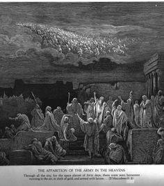 UnCatolico-Biblia-155- El ejercito aparece en el cielo