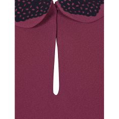 Buy NW3 by Hobbs Heba Dress, Midnight Blue Online at johnlewis.com