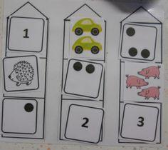 Maths - Classe maternelle - Materptitelouts : associer les différentes représentations du nombre