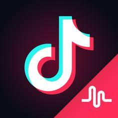 Tik tok logo black Tik Tok in 2018 Pinterest Tik tok