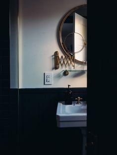 #Black #White #Bathroom
