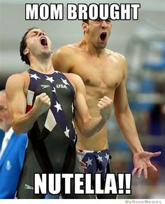 Mom Brought Nutella!
