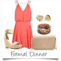 """""""Cruise - Formal Dinner"""" by foursistersblogging on Polyvore"""