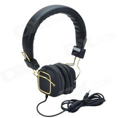 Reduce the noise of outside, providing enjoyment of pure music; Delicate ear shell design, comfortable ear cup; Simple and fashionable design, perfect streamlined structure; Fit the head completely, adjust the ergonomic head band under your size. http://j.mp/1ljTBxC
