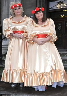 Ugly bridesmaid dresses my10online my10online gabbys wedding lovely jennifer saunders and dawn french take on the role of bridesmaids in a wedding junglespirit Choice Image
