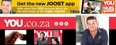 YOU app pays tribute to Joost van der Westhuizen now LIVE on WWW.COM! Feb 2017, My Land, Rugby, The Man, Career, United States, Apps, Van, The Unit