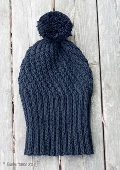 Diy Hat, Beanie Hats, Handicraft, Cowl, Knitted Hats, Knitting Patterns, Knit Crochet, Diy And Crafts, Winter Hats