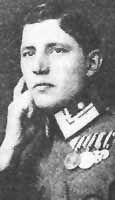 Austro-Hungarian WWI fighter ace, Andreas Dombrowski was born 30/11 1894.