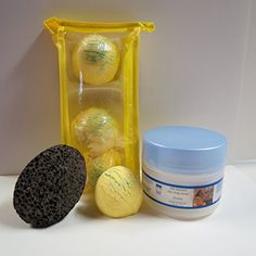 Bath Bomb Products Bubble Bath Truffles Lemmon Verbena 3 Pack Bath Truffles 8 oz Serenity Shea Body Butter Pumice Stone by Dead Sea Spa Care Bubble Bath Bubble Truffles Bath Truffles ** Continue to the product at the image link.