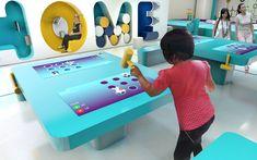 루넹  CC자 플라자 Interactive Table, Interactive Exhibition, Interactive Design, Interactive Architecture, Architecture Events, Exposition Interactive, Science Museum, Kid Spaces, New Kids
