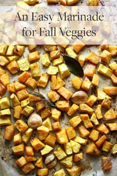 An easy way to make fall veggies standout this Thanksgiving with a delicious marinade.  via @PureWow