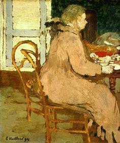 Breakfast / Edouard Vuillard - 1894