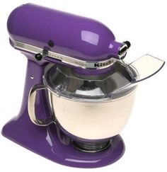 Every kitchen should have at least one purple appliance.