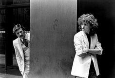 Robert De Niro and Sandra Bernhard in Martin Scorsese's The King of Comedy (1982).
