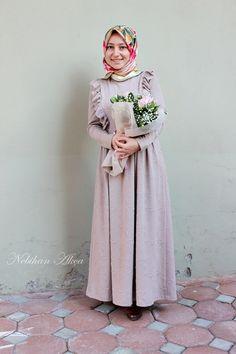 NEBİHAN AKÇA: Fırfırlı Çelik Örme Elbise