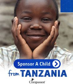 If, as you follow the Tanzania blog trip, you're moved to sponsor a child, this is how you can do it. And thanks.