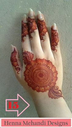 Latest Eid Mehndi Designs Collection for Girls consists of new trends and henna designing styles. Try out these easy and simple mehndi designs! Mehndi Designs Finger, Simple Arabic Mehndi Designs, Mehndi Designs 2018, Mehndi Designs For Girls, Mehndi Designs For Beginners, Modern Mehndi Designs, Dulhan Mehndi Designs, Mehndi Design Pictures, Mehndi Designs For Fingers