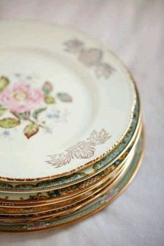 Vintage Treasure  Variety is the spice of life.  Variety on your table is the spice of the meal.  Looks so glamorous.