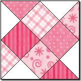 Shooting Squares (free quilt block pattern) would be good on a scrapbook lo