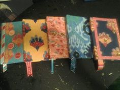 hand-painted bling journals