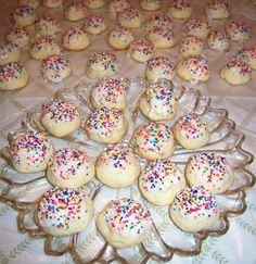 Italian recipe  handed down from generation to generation...a simple recipe and traditional Italian cookie. Please check out the links below the recipes for more of grandma's favorite Italian Style Cookies!