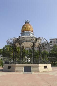 Efe22 - Quiosco de la Música, Parque Grande, Zaragoza