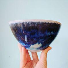 Floating blue... Open till 3pm today. #chinaclay #clovelly #australianceramics #functionalceramics #flowers #florist #SundayFunday