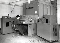 DEUCE computer, 1956