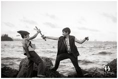 Lost Boys, Peter Pan and Tinker Bell Children Photography