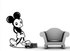'Dark Mickey'  De la colección 'DARK WORLD'