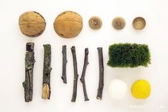 For the fairy garden. Great nature crafts for kids at this site