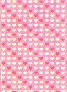Обои сердце розовый