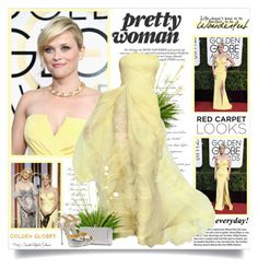"""Reese Witherspoon at the 74th Annual Golden Globe Awards!!"" by lilly-2711 ❤ liked on Polyvore featuring Garance Doré, Bela, Elie Saab, Jimmy Choo, RedCarpet, GoldenGlobes, ElieSaab, jimmychoo and reesewitherspoon"
