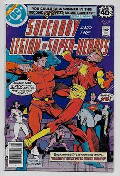 Superboy & the Legion of Super-Heroes #248 NM- 9.2 DC 1979 Joe Staton cvr Mon-El