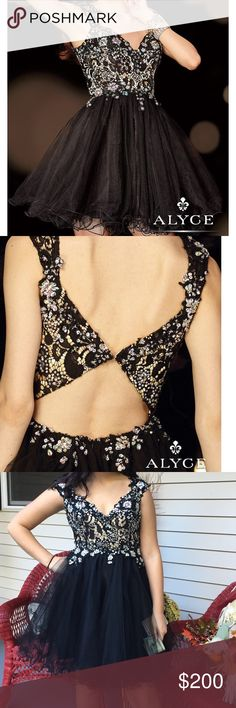 Homecoming dress boutique bridal Alyce sz 2 Homecoming dress boutique bridal Alyce sz 2.  Adorable! Purchased $350 Alyce Paris Dresses Prom