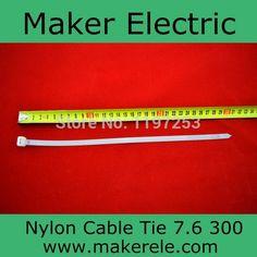 Купить товарГорячая распродажа стандартный кабель галстук MKCT 7.6 * 300 PA66 нейлон кабельные стяжки ( UL CE RoHs сертификат ) 100 шт./пакет в категории Кабельные стяжкина AliExpress.  Fuction: износостойкости  Нейлон Кабельные стяжки 1. пластик самоблокирующимся кабельные tiesmaterial: Nylon66 2 Сертиф