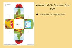 Wizard of Oz Party Ideas Wizard of Oz Square Box