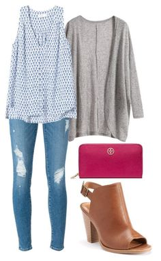 """""""Untitled #217"""" by vineyard-vines-love � liked on Polyvore featuring ü���, Frame Denim, Rebecca Taylor, LC Lauren Conrad  Tory Burch"""