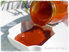 ❤️ Thermomix - Rezepte mit Herz & Pampered Chef ❤️ Rezeptideen &Co. Chutneys, A Food, Good Food, Grill N Chill, Grill Gas, Bbq, Barbacoa, Pampered Chef, Hot Sauce Bottles
