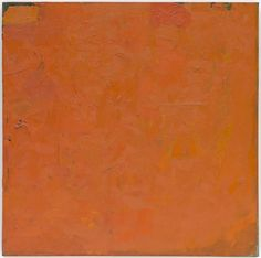 Robert Ryman (American, born 1930)  Untitled (Orange Painting)  Date:1955 and 1959Medium:Oil on canvasDimensions:28 1/8 x 28 1/8 (71.4 x 71.4 cm)Credit Line:Fractional and promised gift of Jo Carole and Ronald S. LauderMoMA Number:532.1998Copyright:© 2013 Robert Ryman