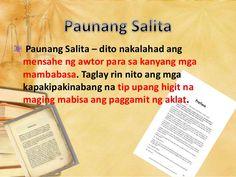 Image result for bahagi ng aklat Google Search, Image