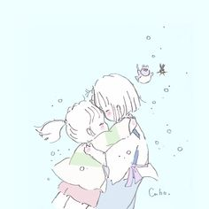 Twitter Pretty Art, Cute Art, Chihiro Y Haku, Cute Kawaii Drawings, Ghibli Movies, Anime Sketch, Cute Characters, Cute Illustration, Totoro