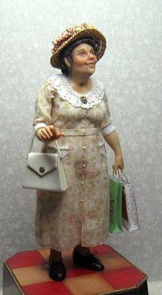 Miniature Doll Art by Sharon Cariola