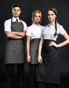 Sleek and sophisticated service in Premier hospitality workwear.